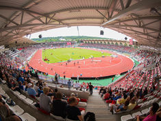 Regupol® AG at the Steigerwald Stadium in Erfurt, Germany.