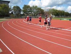 Synthetic running track, Hassloch
