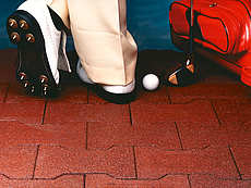 Regupol Interlocking Pavers Golf