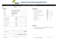 BSW product finder REGUPOL BSW GmbH