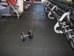 Resilient Flooring in gyms