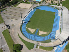 Regupol® AG running track at the Bernardo W. Werner Stadium in Blumenau, Brazil.