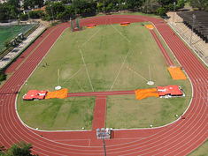 Regupol® AG athletic track at Sao Paulo's official Olympic training facility (COTP).