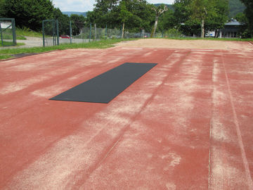 Regupol® Rolldown Runway - Ideal surface for running even laid on worn sub-bases