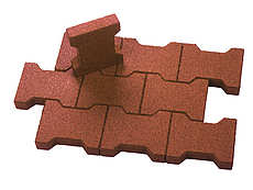 Regupol Interlocking Pavers