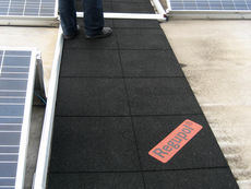 Regupol® walkway AK Elastic Pavement Tiles