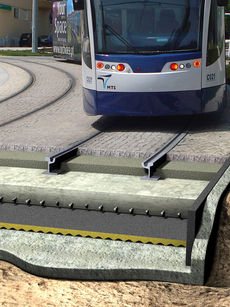 Reliable protection against ground borne vibration