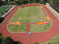 Top athletes from Brazil are training for the 2016 Olympics on Regupol tartan tracks. REGUPOL BSW GmbH