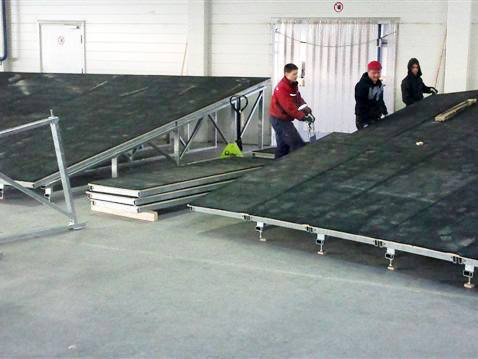 2. Application of the elastic layer
