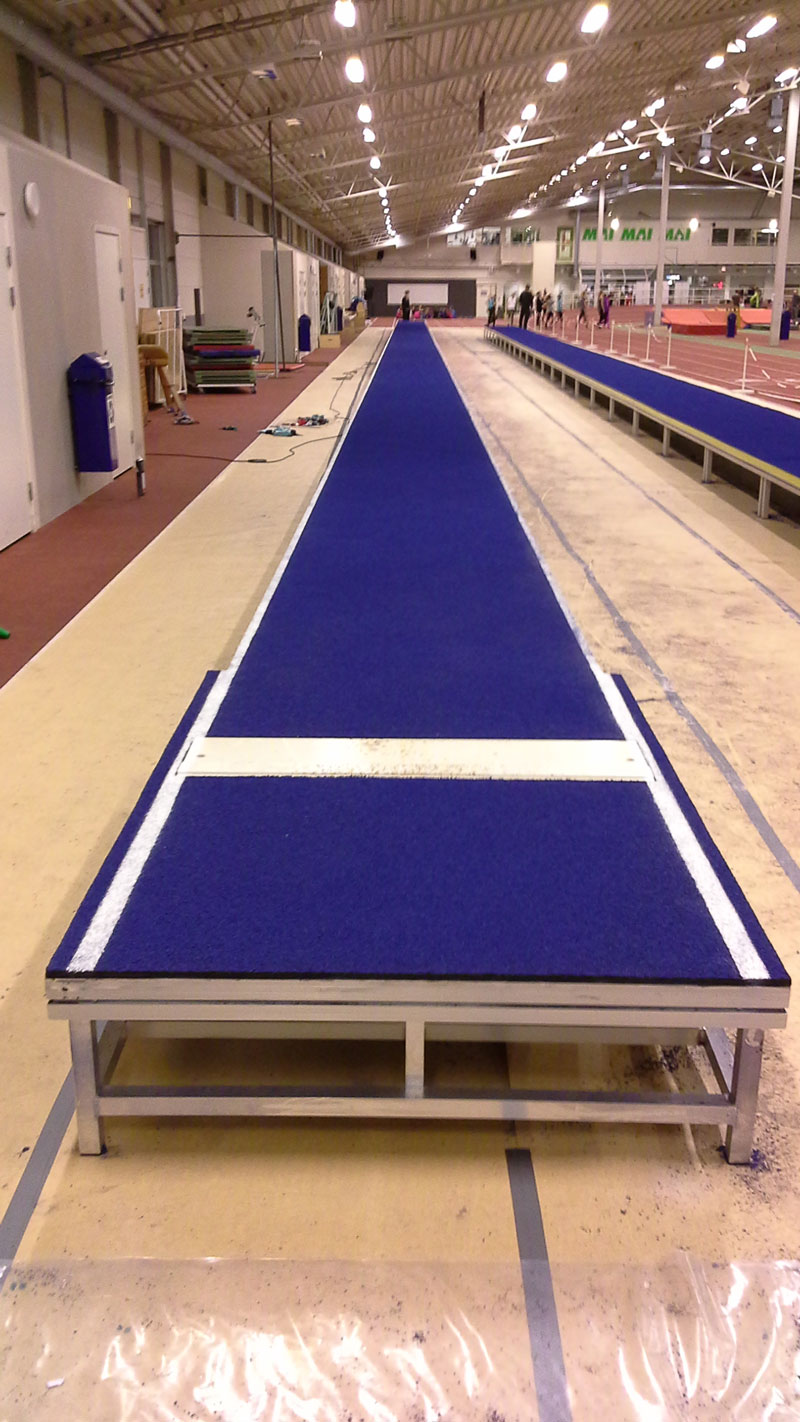 Regupol sPORTrack first used at the Malmö Games REGUPOL BSW GmbH
