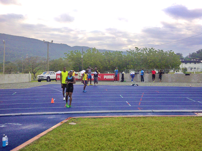 Training on the Regupol® Athletic Track