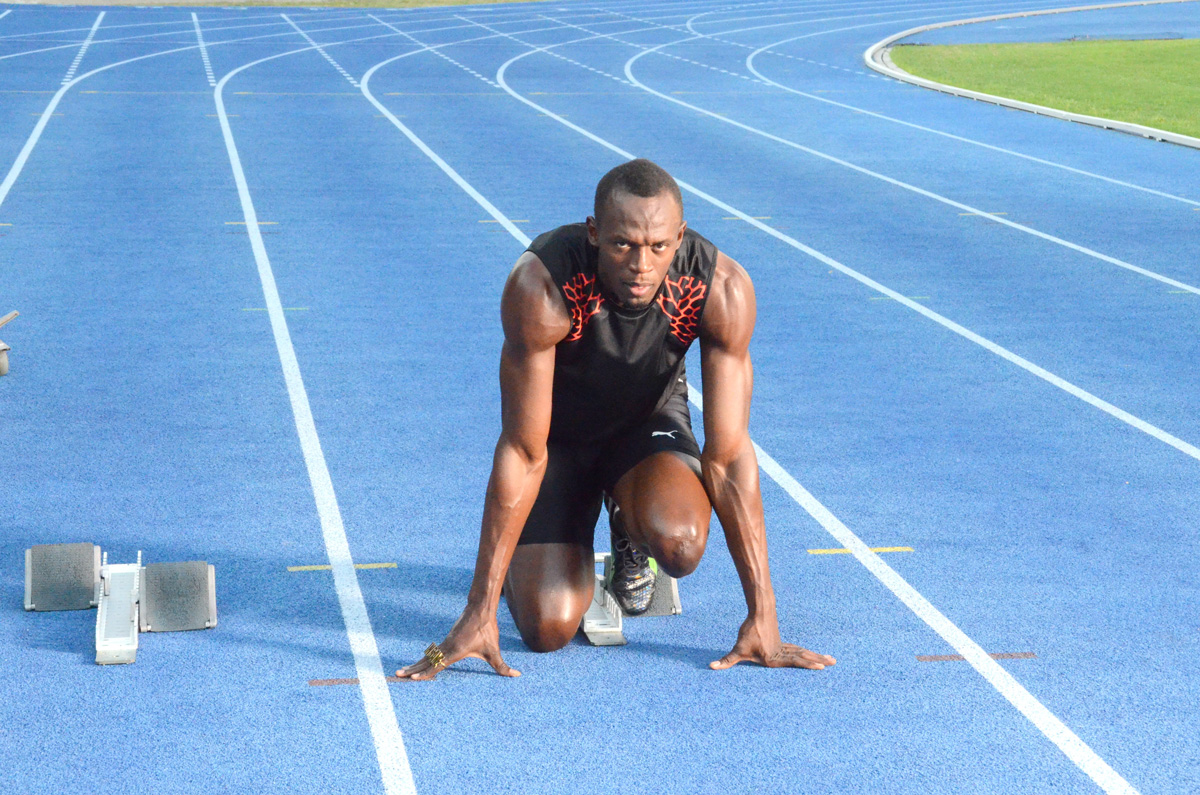 Usain Bolt got nothing but good words for his Regupol Tartan Track REGUPOL BSW GmbH